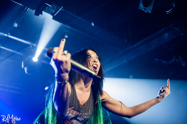 Carla, Butcher Babies By Graham Berry.