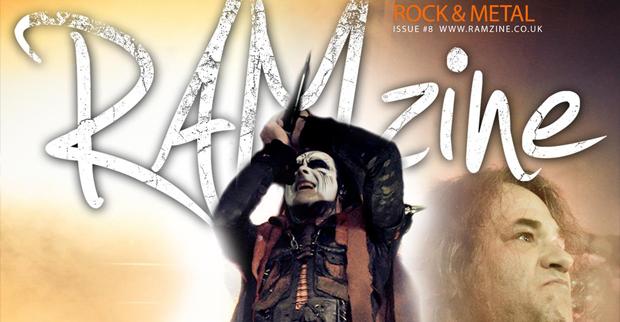 RAMzine Issue 8 – Hammerfest, Cradle of Filth, Anti-Clone, AshesToAngels!
