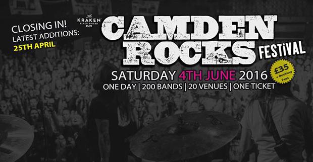 Preview: Camden Rocks Festival 2016