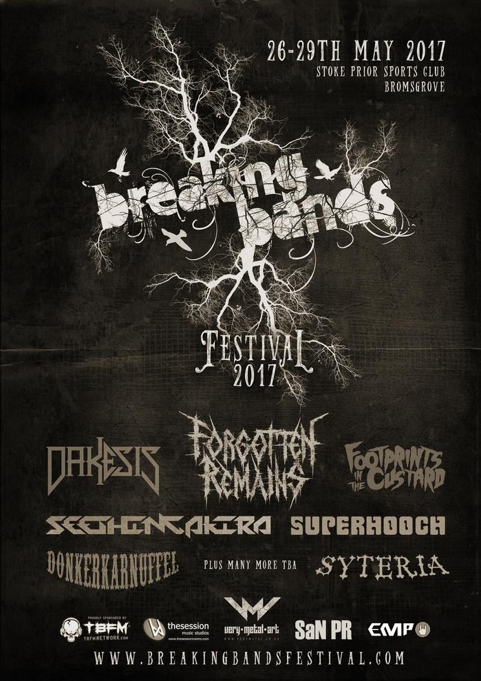 Breaking Bands Festival 2017 - 1st Announcement