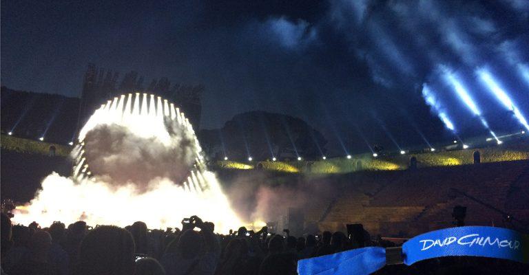 Live: David Gilmour – Live at Anfiteatro di Pompei