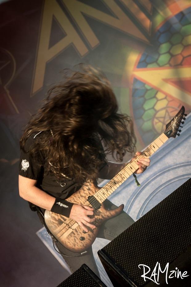 Jon Donais of Anthrax