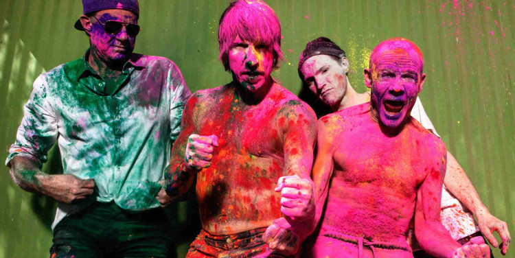 Red Hot Chilli Peppers Announce First UK Tour In Five Years