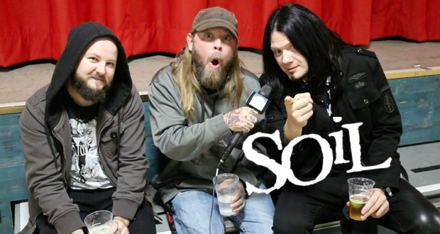 The worlds best or worst interview with SOiL!? – Hard Rock Hell