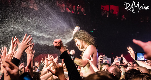Live: Airbourne, The Electric Ballroom, London