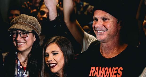 ACM welcomed Red Hot Chilli Peppers drummer, Chad Smith