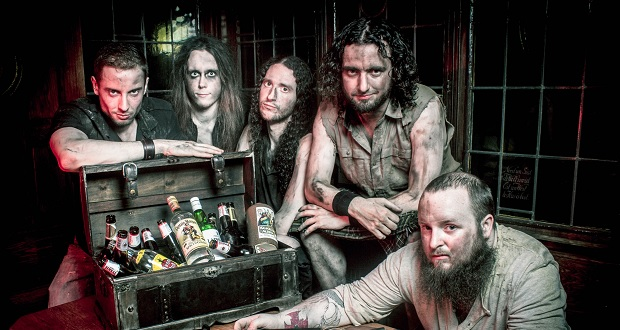 Alestorm return to the studio to work on fifth album
