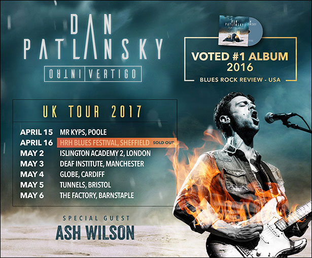 Dan Patlansky Tour poster