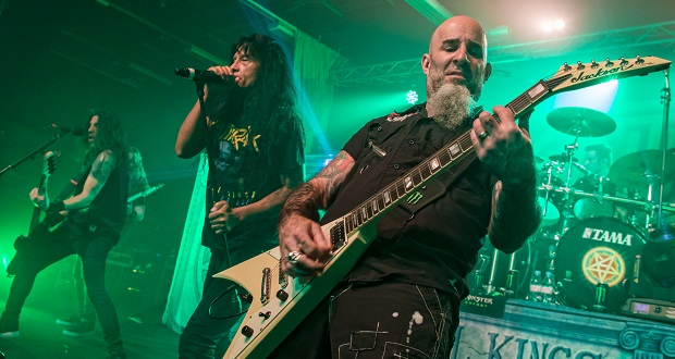 Live: Anthrax / The Raven Age, Northumbria Uni, Newcastle