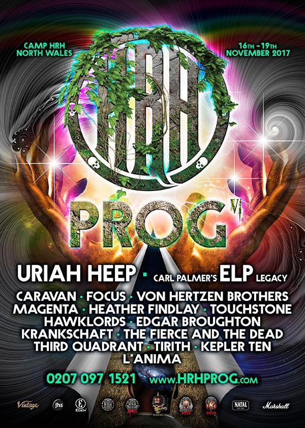 HRH Prog double up on the Prog Rock goodness
