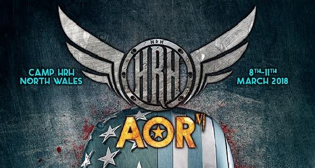 HRH AOR 2018 announces first acts!