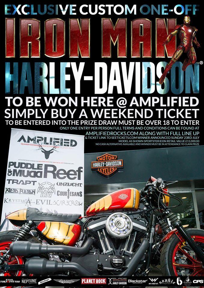 Iron Man Harley Davidson