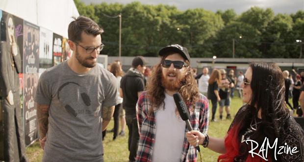The Devil Wears Prada at Download Festival