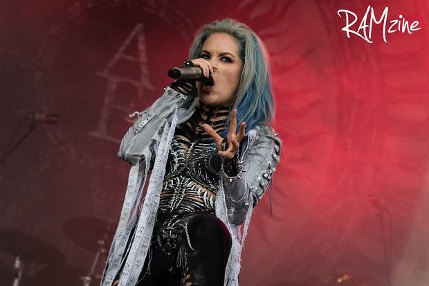 Alissa White-Gluz of Arch Enemy