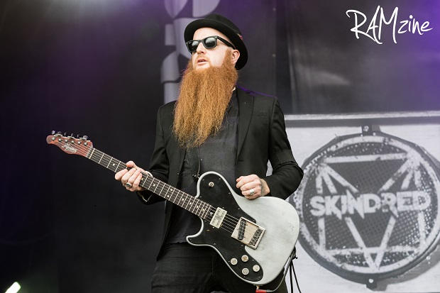 Skindred's Mikey Demus