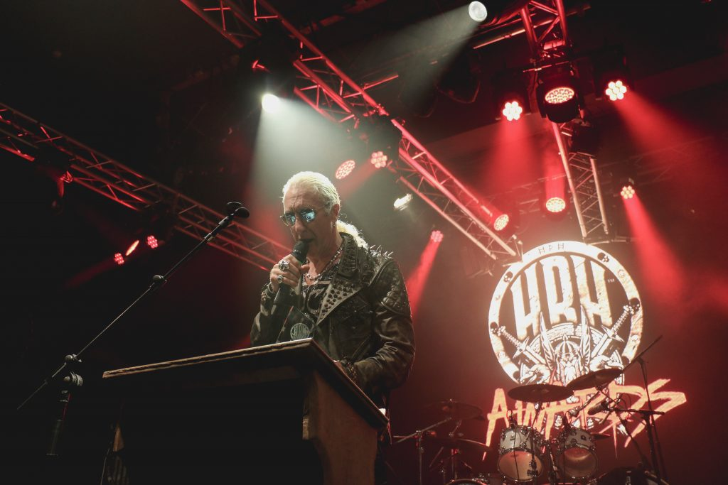 Dee Snider at HRH Awards