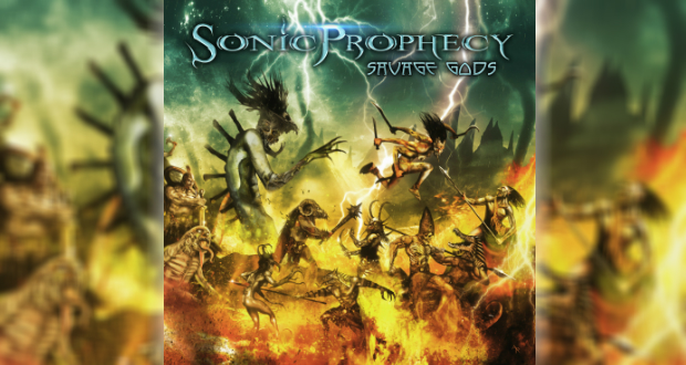 Savage Gods is the third album from Utah's Sonic Prophecy