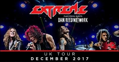 Extreme & Dan Reed Network – Live Birmingham 02 Academy, 17th December 2017