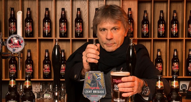 Iron Maiden and Help For Heroes launch 'Light Brigade' ale
