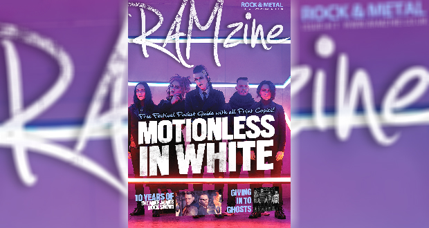 RAMzine 17 | Motionless In White, Mike James Rock Show, Giving In To Ghosts