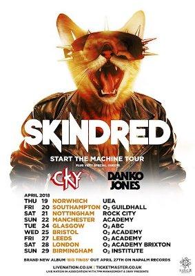 Danko Jones Joins Start The Machine Tour