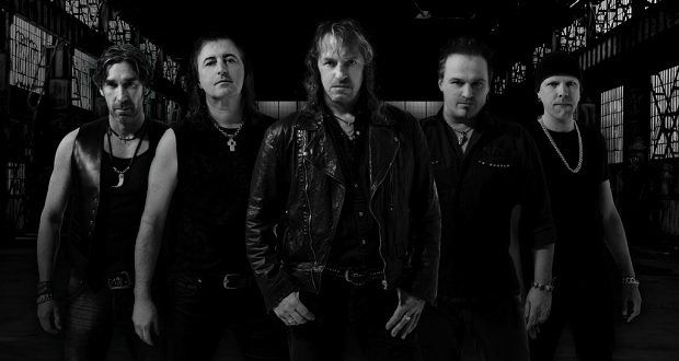 Bonfire release their new lyric video for 'Crazy For You'