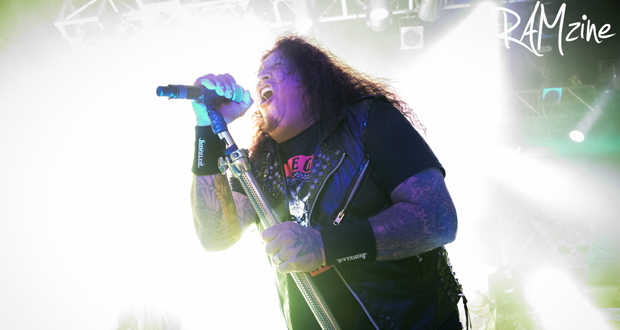 Testament returned to London with Annihilator and Vader in tow