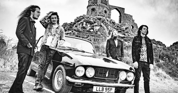 1968 produce heavy, muddy guitars and riffs aplenty on 'Ballads of the Godless'