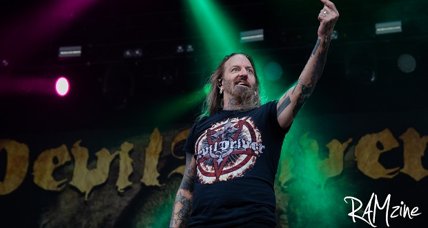 "DevilDriver ""If it's not volatile and visceral, its not metal"" Bloodstock 2018 Interview"