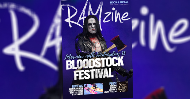 RAMzine 20 | Wednesday 13, Bloodstock, Godsized