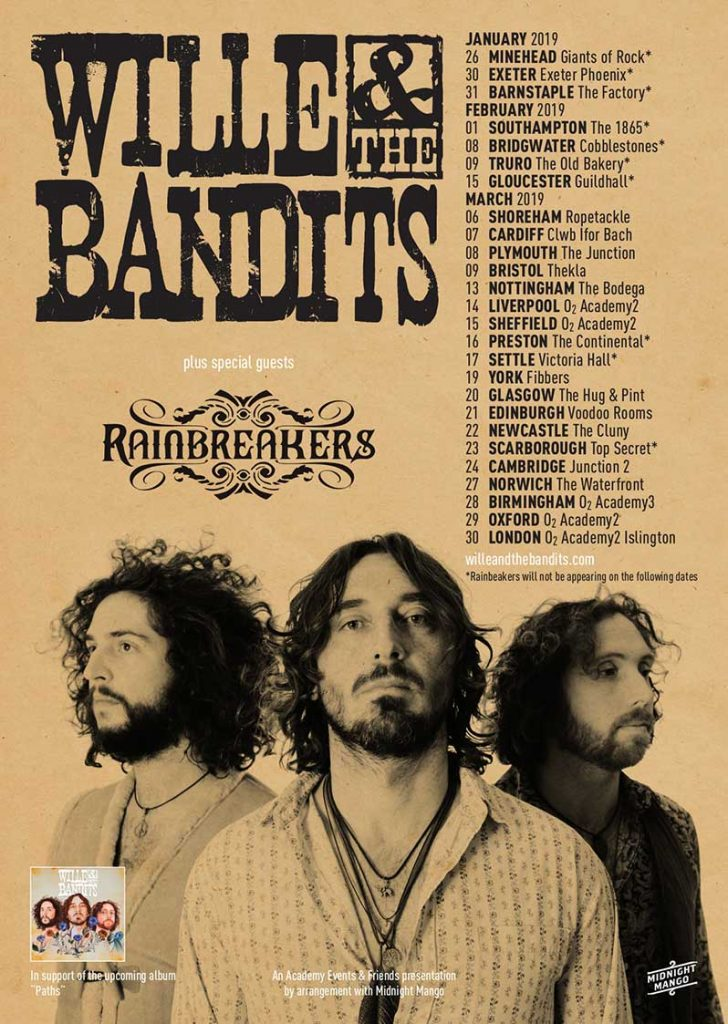 Wille & The Bandits Tour