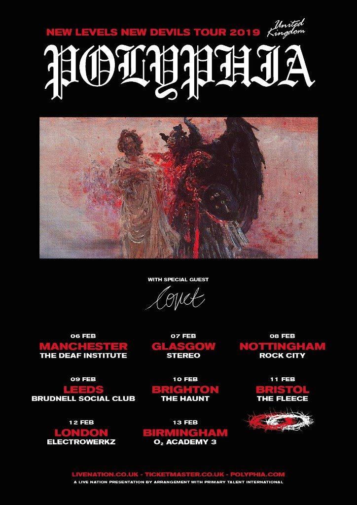 Polyphia UK Tour