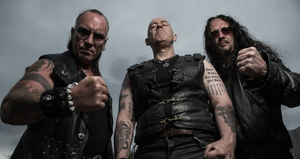 """Venom, Inc. """"We're probably the only band with a real zombie"""" Bloodstock 2018 Interview (Audio)"""