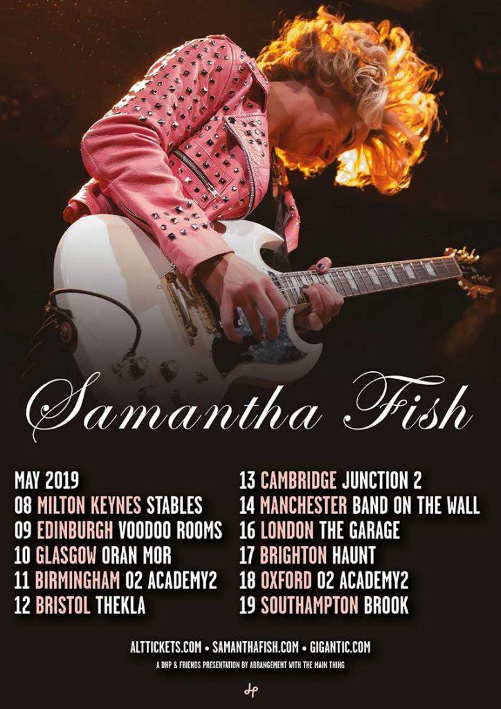 Samantha-Fish_May-2019-UK-Tour_Poster
