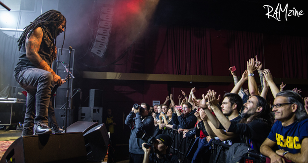 Sevendust live at Manchester Academy with All That Remains and Blind Channel