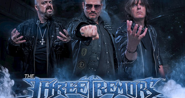 The Three Tremors featuring Tim 'Ripper' Owens, Sean Peck and Harry Conklin set to release their self titled debut album