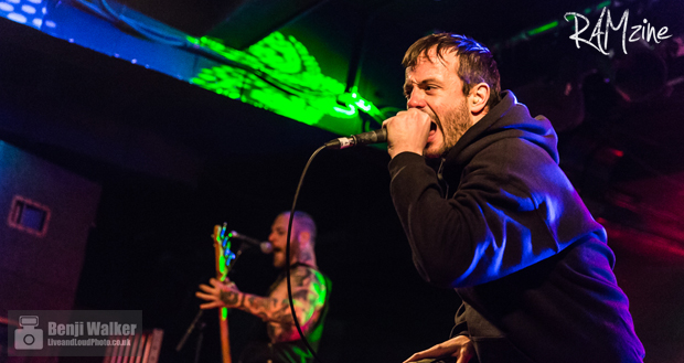 Cancer Bats leave a flaming hot trail of destruction in the iciest part of Tunbridge Wells