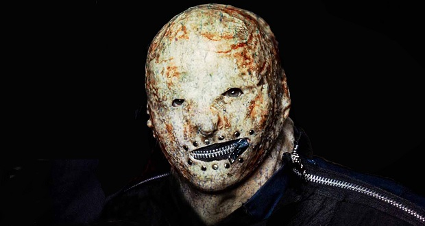 Who is the new member of SlipKnot from the 'Unsainted' video?
