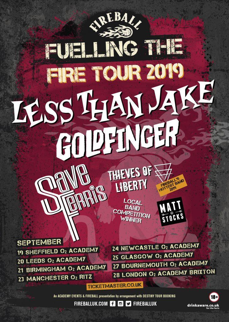 Fireball Tour 2019