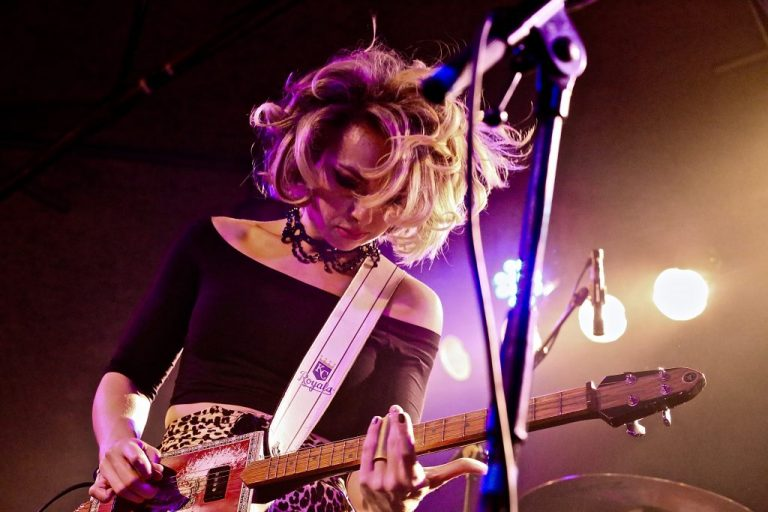 Samantha Fish Hangs Stockings out for Christmas