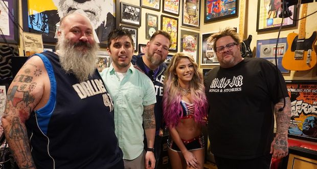 Bowling For Soup pay tribute to WWE superstar fan in new video 'Alexa Bliss'.