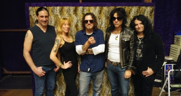 Supergroup Hookers & Blow cover The Rolling Stones classic 'Rocks Off'