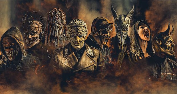 """Mushroomhead """"Our feud with SlipKnot is 99% media and fan-fueled"""""""