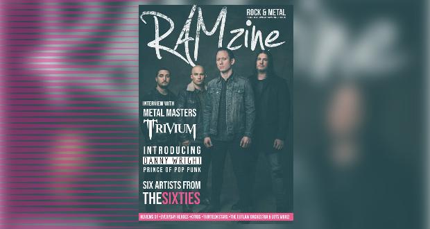 RAMzine 26 | Trivium, Danny Wright, Isolation Diaries