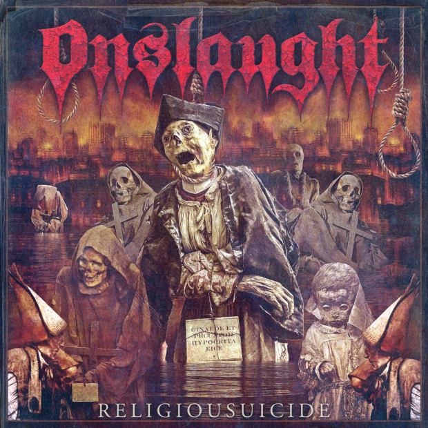 Generation Antichrist with Onslaught!