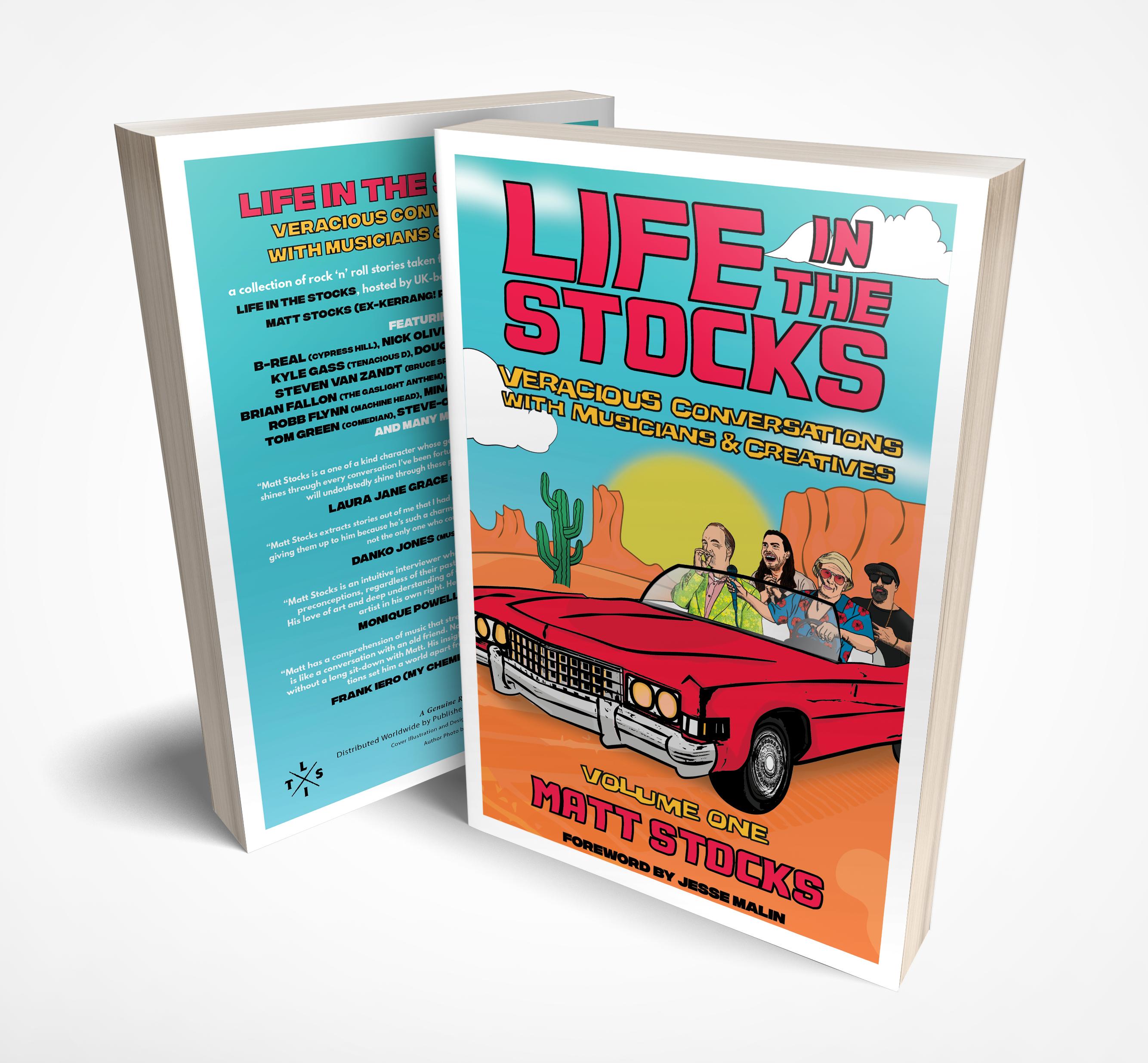 Life In The Stocks Volume One Cover 3D V2