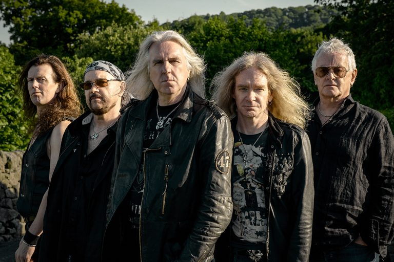 Saxon pay homage to their Inspirations
