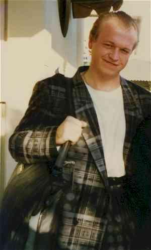 Mark at San Francisco, California in 1986 CC image Nancy J Price