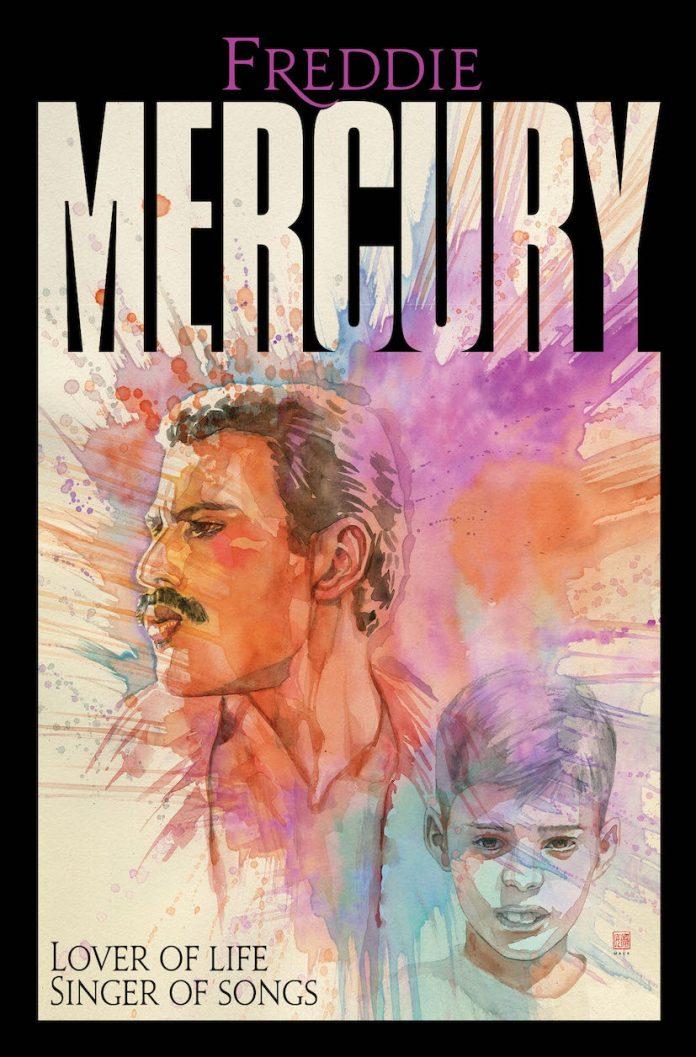 Freddie Mercury Graphic Novel