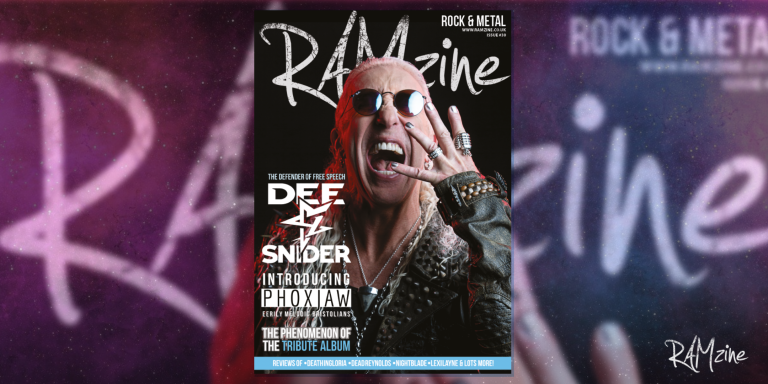 """RAMzine 30: Dee Snider """"We are all from the same freaking bloodline"""""""